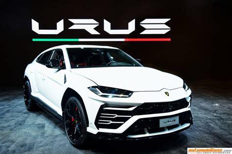 Mobil Lamborghini Urus by Lamborghini Urus Launched In India At Rs 3 Crores Ex