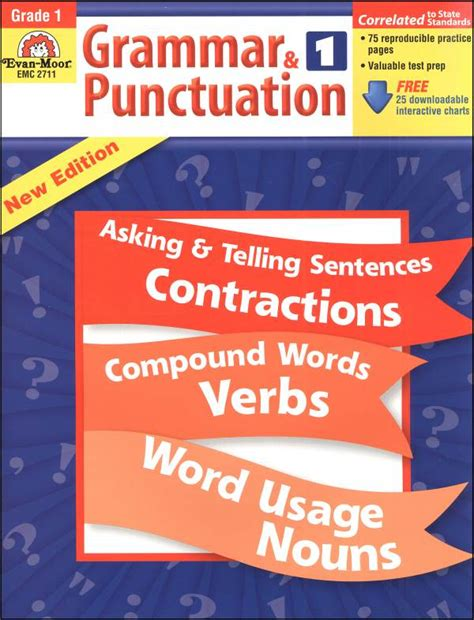 Grammar & Punctuation Grade 1 (015552) Details  Rainbow Resource Center, Inc