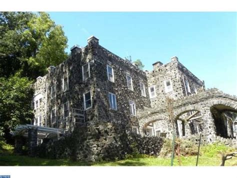 historic castle destroyed by in delaware county