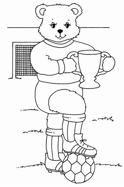 Trophy Coloring Competition Pages Soccer Mr Truck