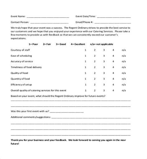 guest feedback form for restaurant sle customer feedback form 22 free documents in pdf
