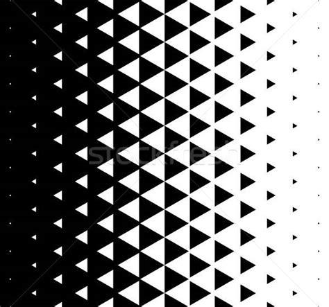 halftone triangular pattern vector abstract monochrome geometric triangle pattern design