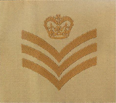 staff sergeant rank badge brown  sand desert combat