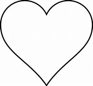 Simple Heart Drawing - ClipArt Best