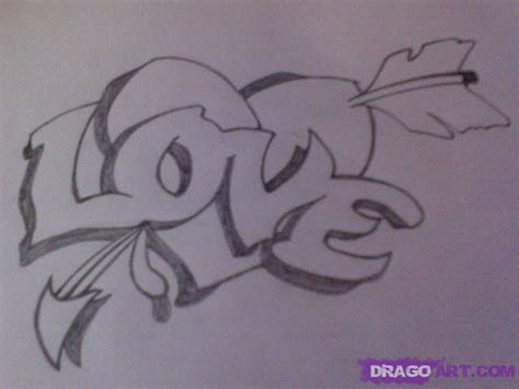 draw  love tattoo step  step drawing sheets added