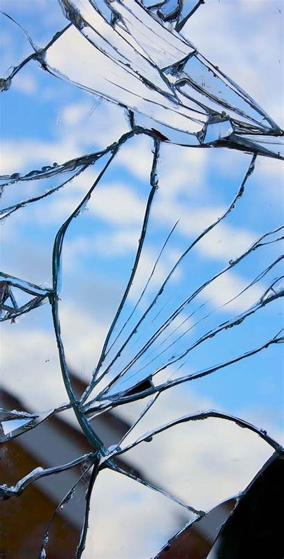 Broken Fondos Wallpapers Rotto Screen Shattered Iphone