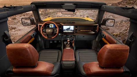 ford bronco interior retro cues rugged