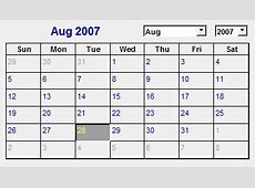 Use a Calendar control or Date Picker to fill in dates