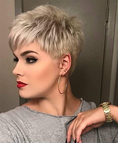short blonde pixie cut hair dos short hair cuts