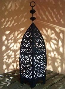 Blumentöpfe Groß Draußen : orientalische laterne aus metall schwarz sliman 60cm gro marokkanische gartenlaterne f r ~ Eleganceandgraceweddings.com Haus und Dekorationen