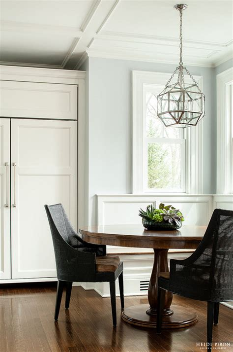 Classic Transitional White Kitchen  Home Bunch