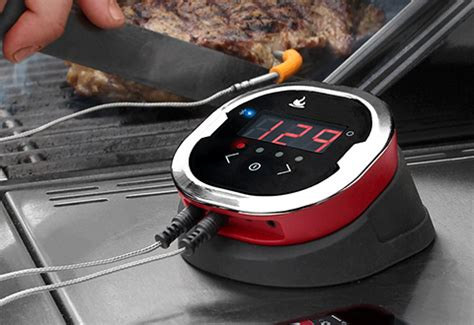 bluetooth grill thermometer  sharper image