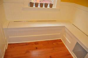 PDF DIY Breakfast Nook Storage Bench Plans Download