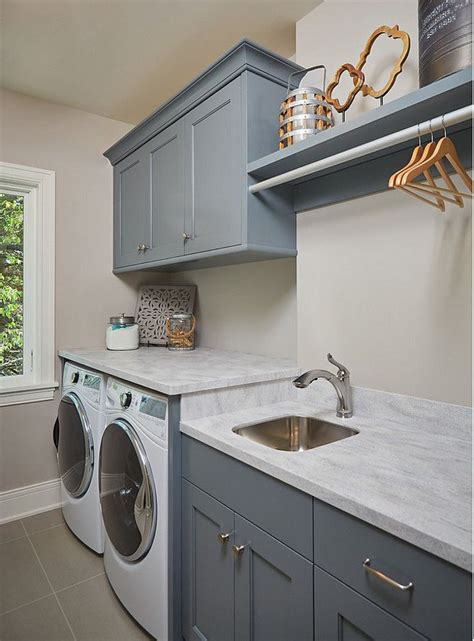 budget laundry room makeover reveal craving some