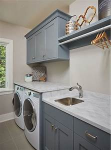 bm grey pinstripe laundry room cabinet paint color bm With kitchen colors with white cabinets with utility room wall art