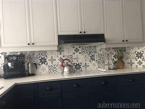 repeindre un carrelage de cuisine repeindre des carreaux avec de la chalk paint et des