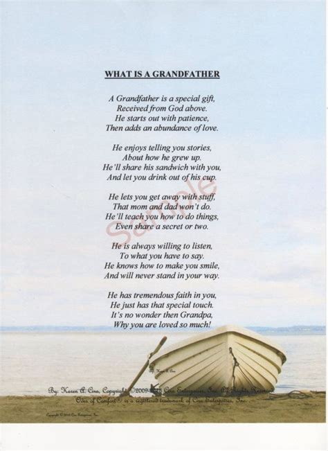 fathers day poems  grandfathers fathers day
