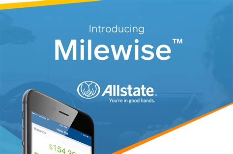 allstate milewise pay  mile insurance