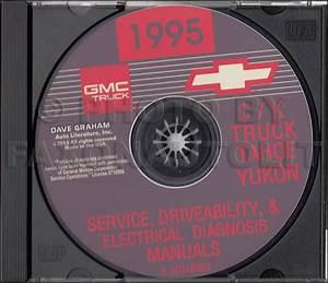 1995 Chevy Ck Truck Shop Manuals On Cd Pickup Cheyenne