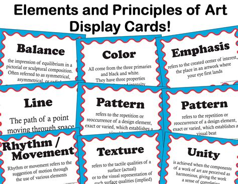 the 8 principles of design elements of art lessons tes teach