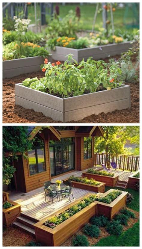 Ideas For Backyard Gardens by 17 Diy Garden Ideas Beautyharmonylife
