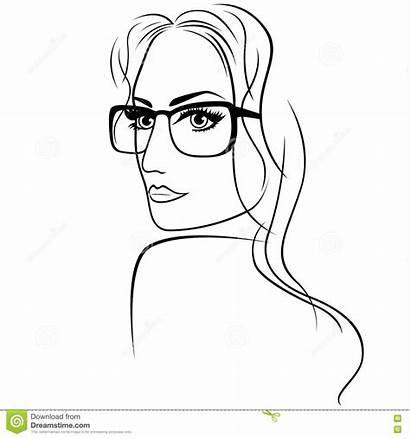 Eyeglasses Woman Attractive