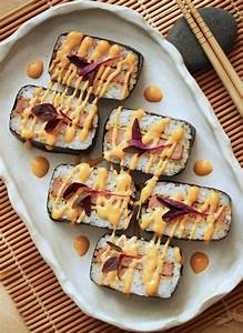 Hawaiian SPAM Musubi with Dynamite Sauce 11   Cookbook ...