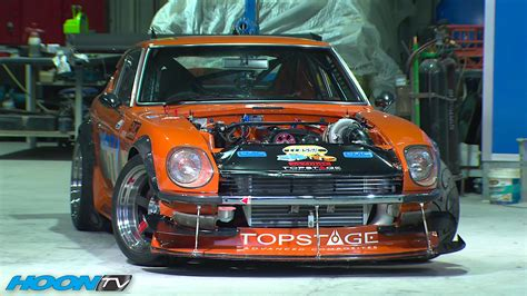 Datsun Engines by An 800 Horsepower Datsun 240z With Nissan Skyline Engine