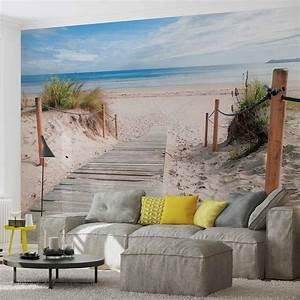 Poster Mural Nature : path beach sand nature wall paper mural buy at europosters ~ Teatrodelosmanantiales.com Idées de Décoration