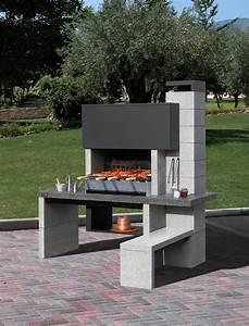 barbecue fixe en dur prix barbecue pinterest With barbecue en dur exterieur