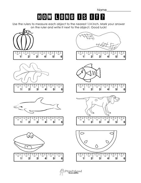 measuring with a ruler worksheets 3rd grade using a