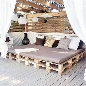 Balkon Gestalten Orientalisch : la decoraci n con muebles hechos con palets sigue de moda ~ Eleganceandgraceweddings.com Haus und Dekorationen