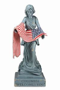 Bioshock Infinite - Statue - Columbia Statue NECAOnline com