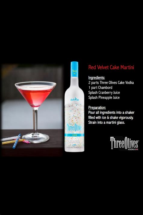 red martini red velvet cake martini recipe dishmaps