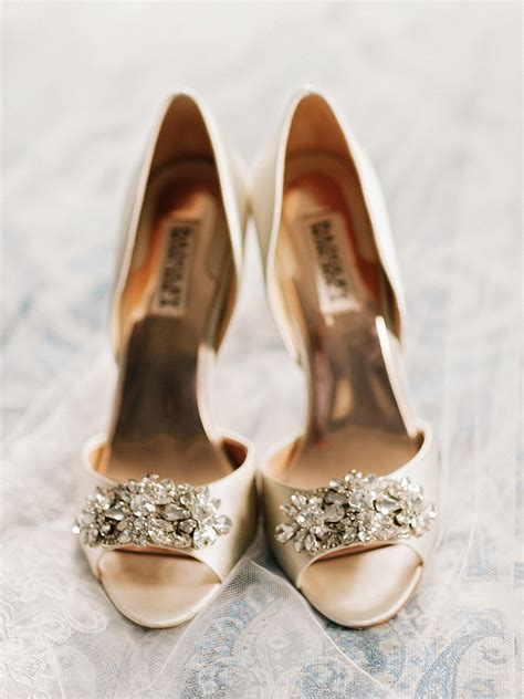 gold badgley mischka shoes elizabeth anne designs