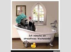 Ich wünsche ein stressfreies Wochenende! Lustige Bilder
