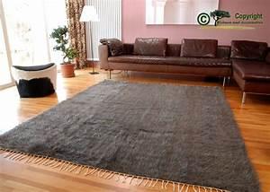 Teppich Schurwolle Grau : ziegenhaarteppich teppich mohair ziegenhaar grau 190 ebay ~ Indierocktalk.com Haus und Dekorationen