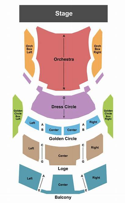 Chart Seating Valentine Theatre Endstage Maps Toledo