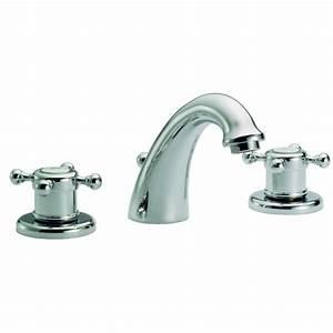 Robinet 3 Trous Lavabo : ensemble 3 trous lavabo huber gamme victorian mondial ~ Edinachiropracticcenter.com Idées de Décoration