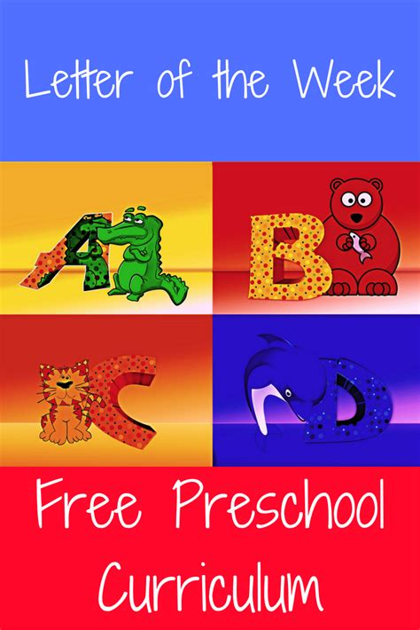 free preschool curriculum letter of the week preschool 371   d8150b70cdac691a73f0a0fab10ded45