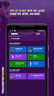tracker network  fortnite stats app report  mobile