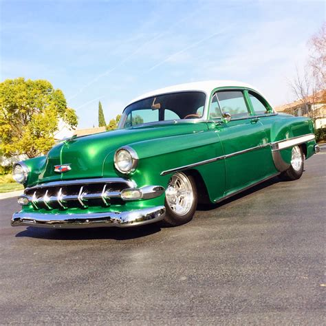 Covering Classic Cars  1953 Chevy Club Coupe From Our