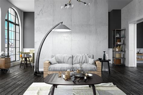 47 Cool Gray Living Room Ideas (Photos)