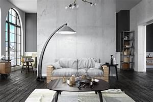 40, Industrial, Living, Room, Ideas, For, 2019