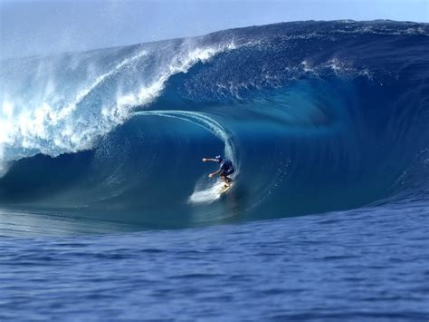 Haciendo Surf en olas gigantes - Cosas únicas