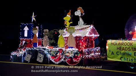 charlie brown christmas parade  holbrook arizona