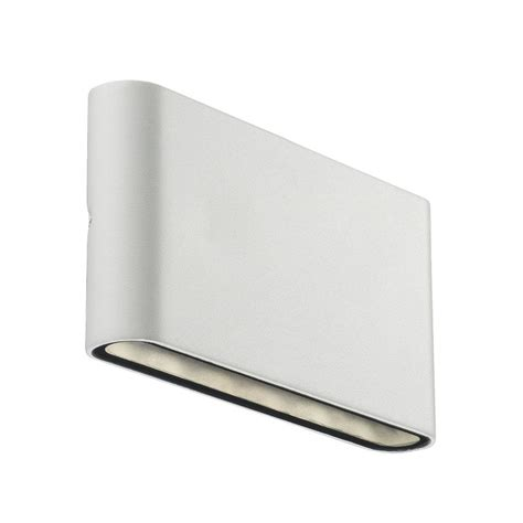 nordlux kinver outdoor led wall light white
