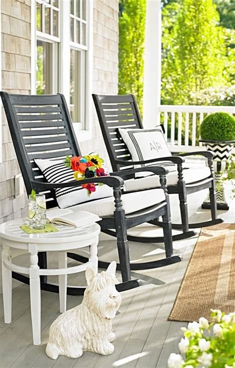 Outside Porch Furniture by Nantucket Rocking Chair Curb Appeal Front Porch