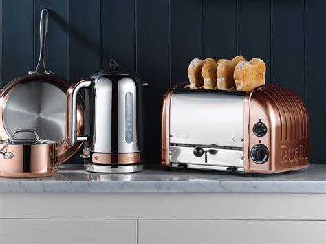 copper finish classic kettle classic range toasters