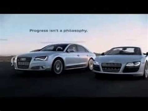 audi r8 ads audi r8 tv spot commercial advert 2011 footsteps of